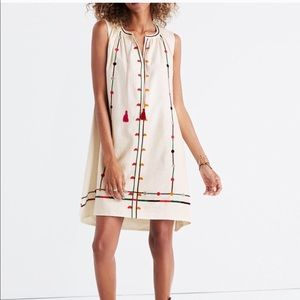 NWT Madewell Embroidered Sunview Dress G4932